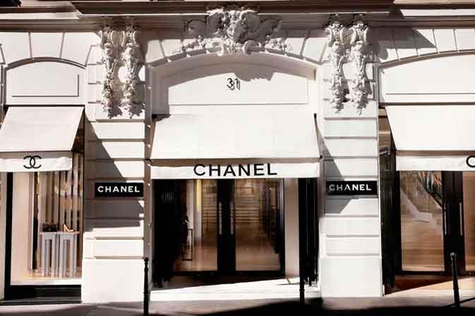 Cửa hàng nước hoa Chanel đầu tiên tại Pháp