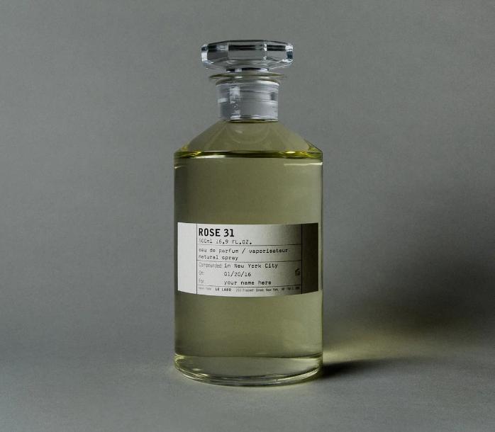 Kiểu dáng của chai nước hoa Le Labo Rose 31 500ml